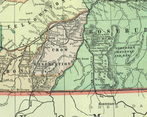 Cheyenne Indian Map Submited Images